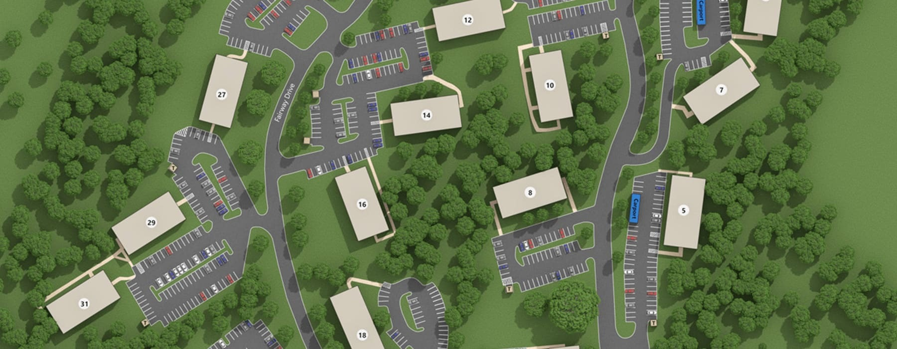 rendering of property site map